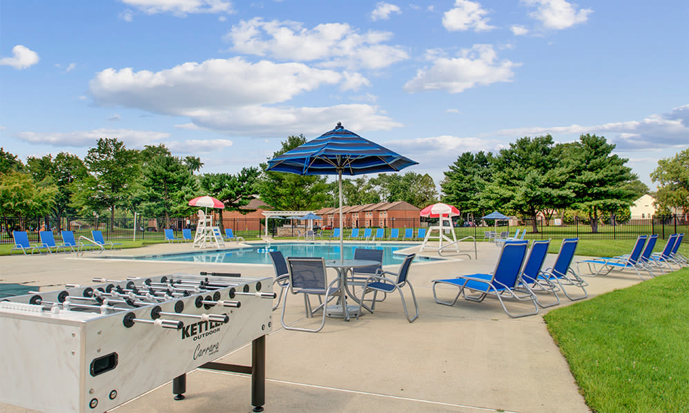 Sundeck at Sherwood Village Apartment & Townhomes in Eastampton, New Jersey