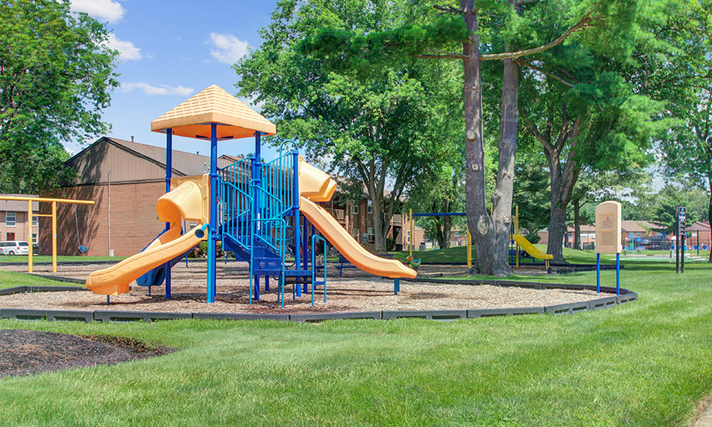 Playground at Sherwood Village Apartment & Townhomes in Eastampton, New Jersey