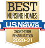 US News Best Nursing Homes 2020-2021 award