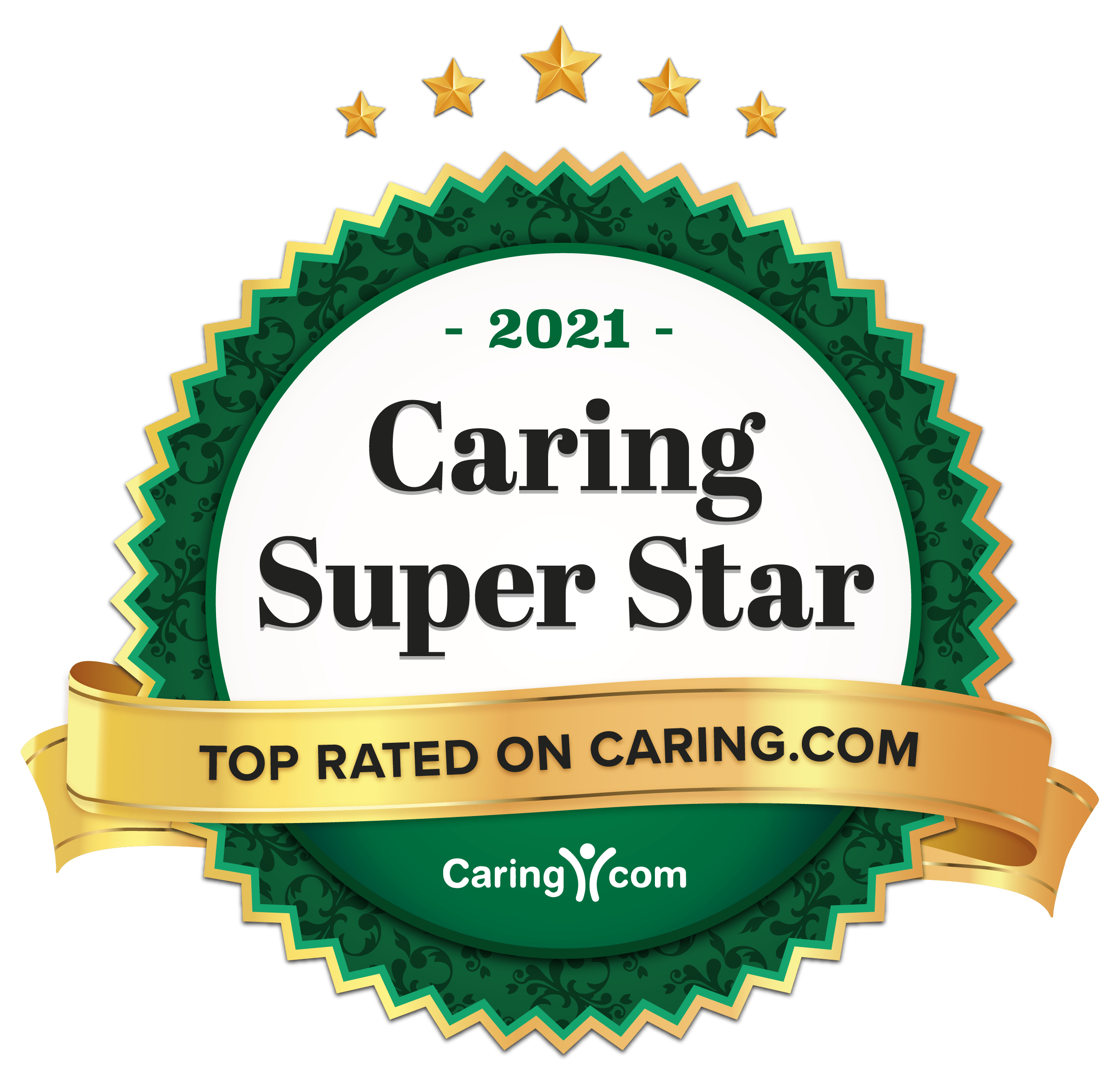 Caring stars award for Chestnut Knoll in Boyertown, PA