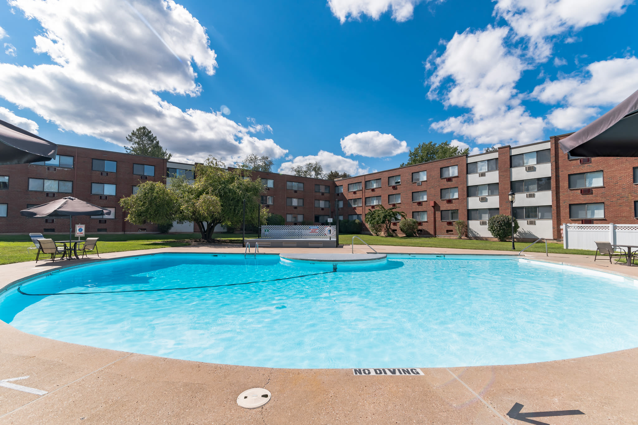 Relaxing pool at Eagle Rock Apartments at West Hartford in West Hartford, Connecticut