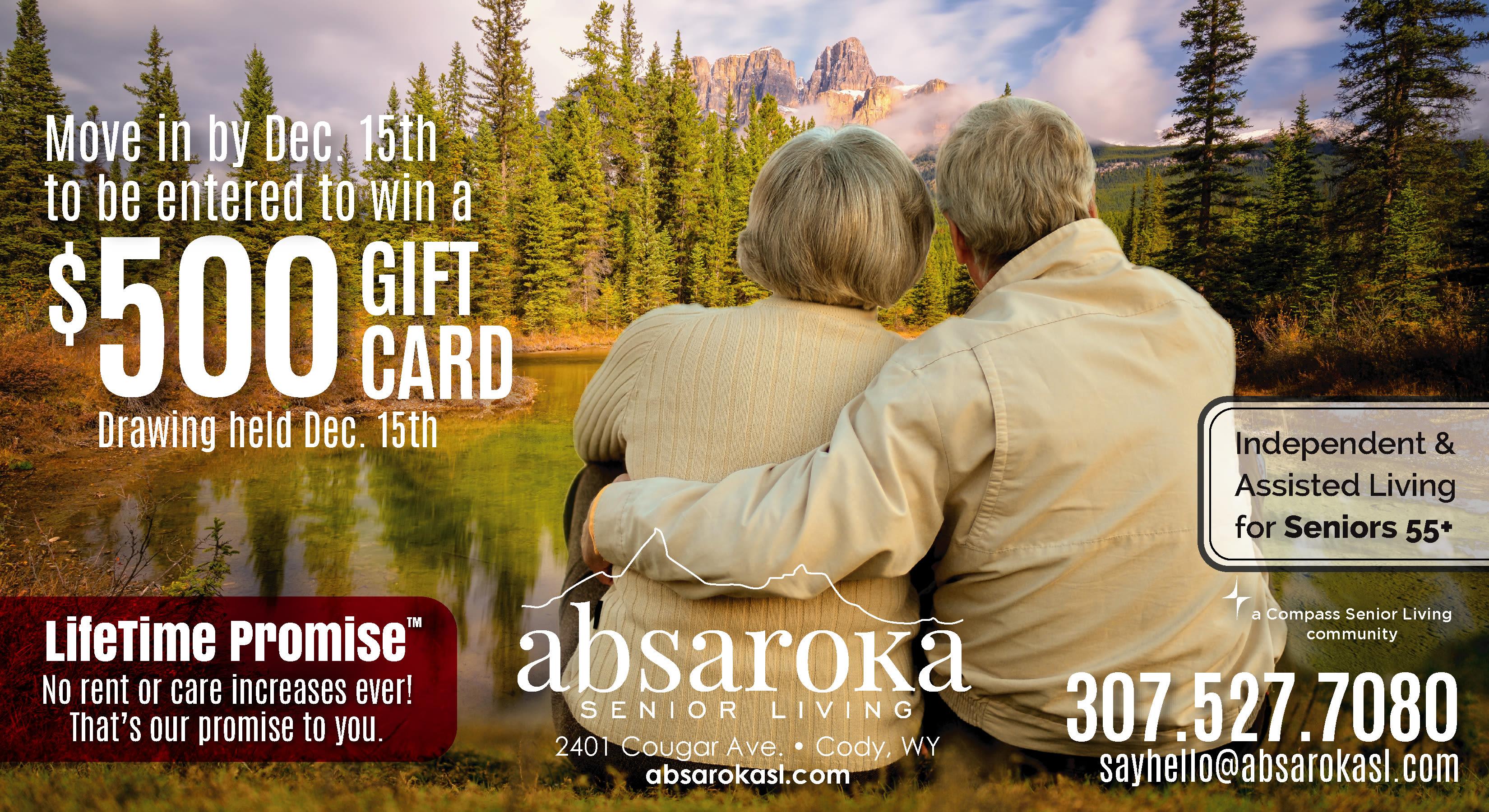 Absaroka Specials flyer