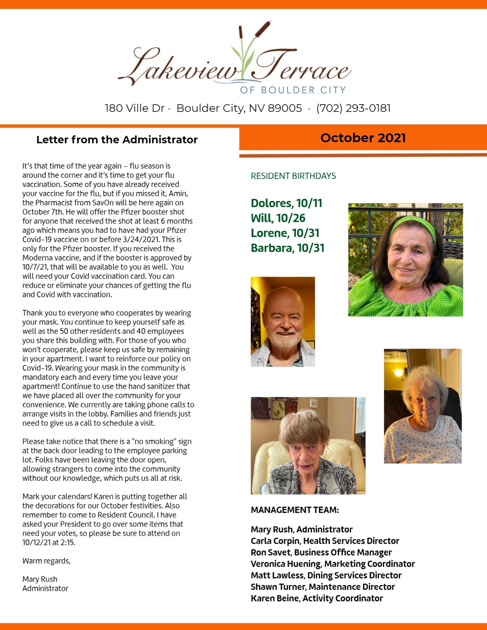 {{location_name}} September Newsletter 2021