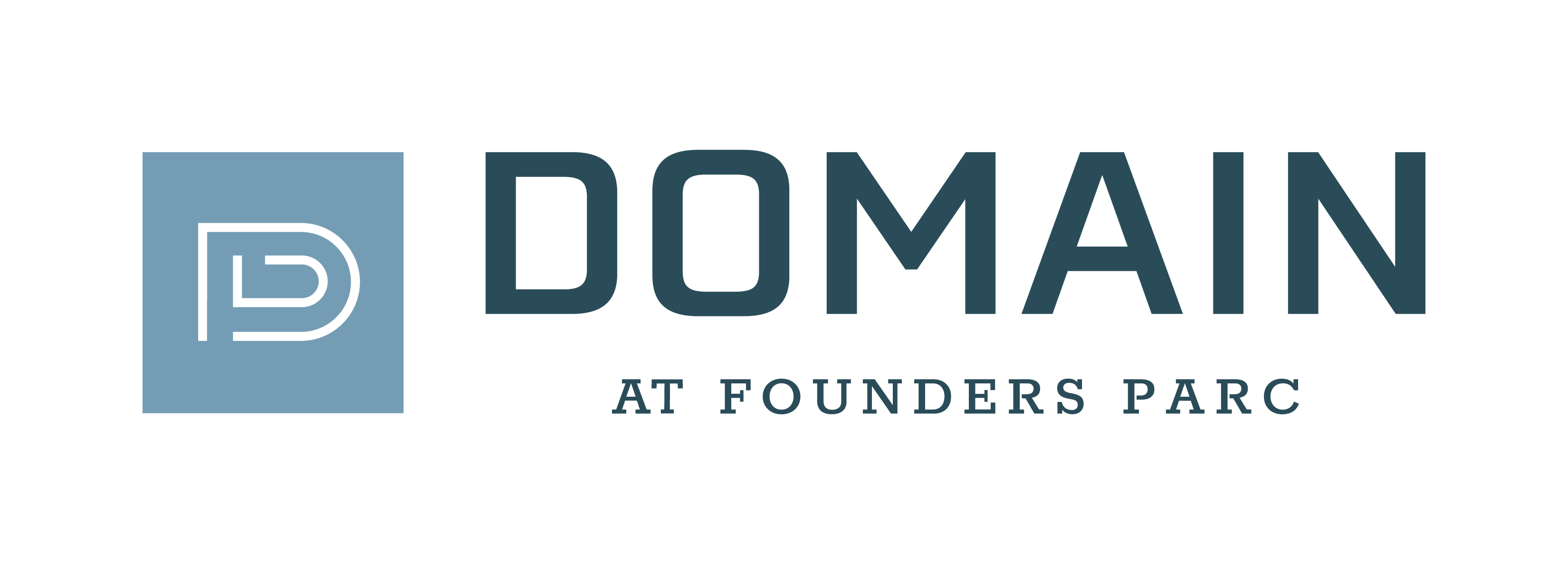 Logo at Domain at Founders Parc