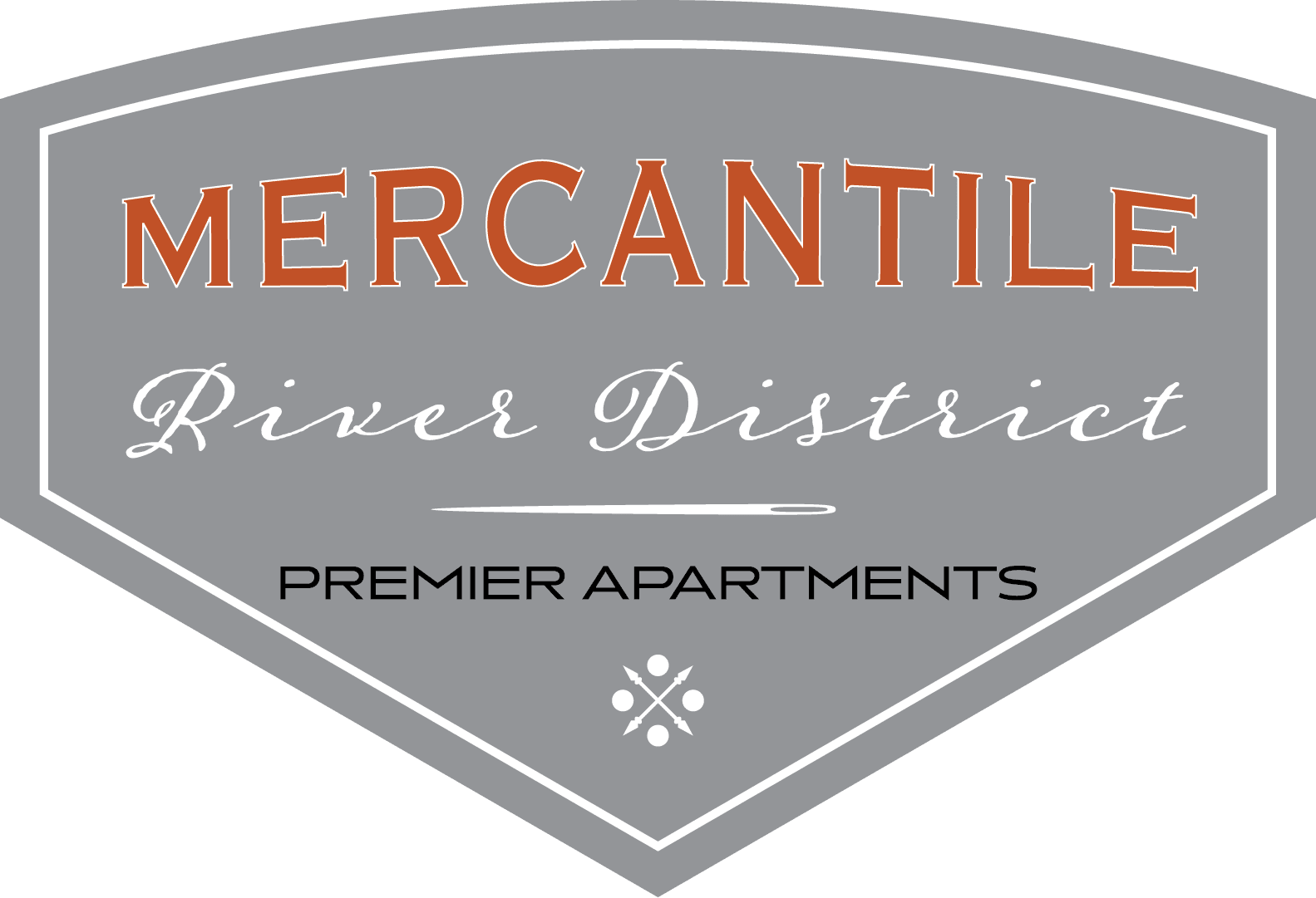 Logo at Mercantile River District