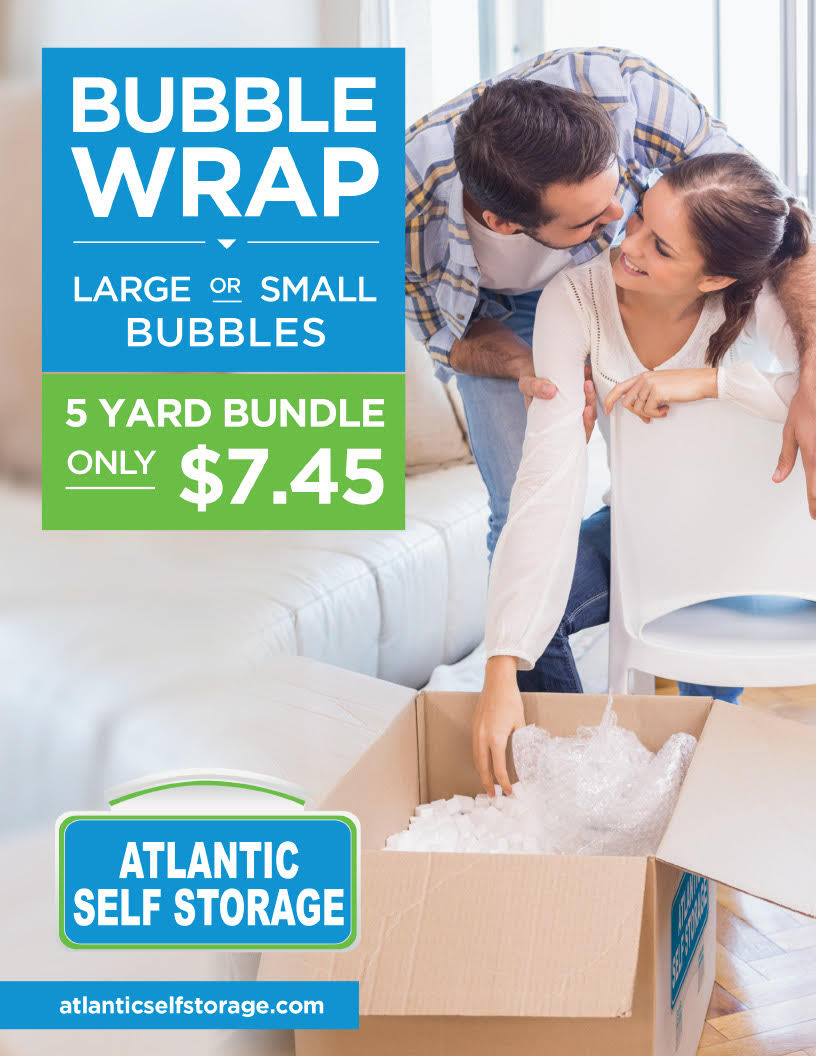 bubble wrap large or small bubbles $7.45