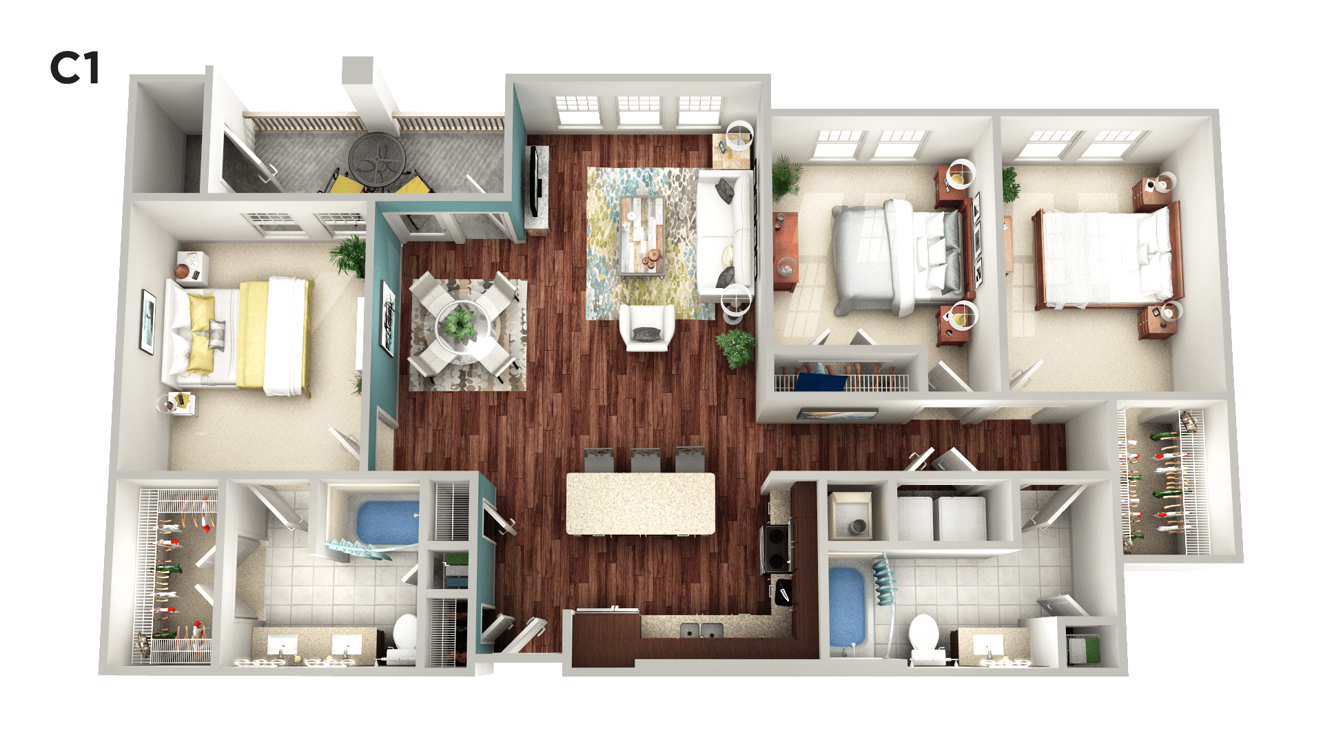 Luxury 1, 2 & 3 Bedroom Apartments in Grapevine, TX