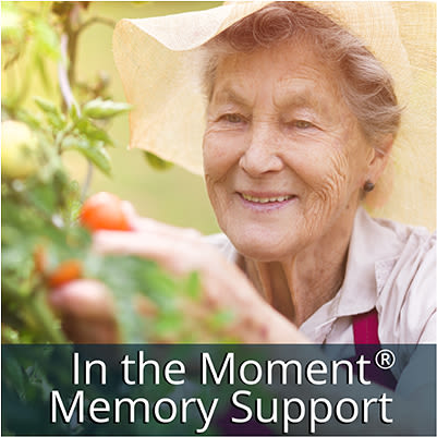 In the Moment Memory Support at Bridgeport Place Assisted Living in University Place, Washington