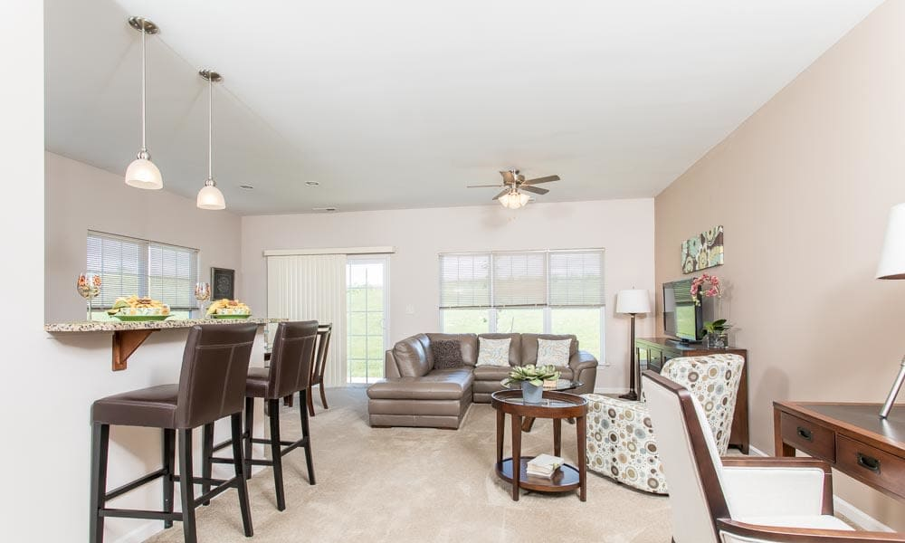 Preserve at Autumn Ridge offers a luxury dining room in Watertown, New York