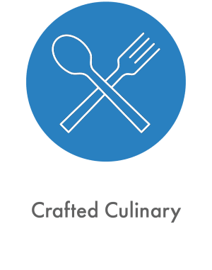 Learn about our crafted culinary experience at The Sanctuary at West St. Paul in West St. Paul, Minnesota