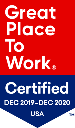 Great Place to Work Certified from December 2018 to December 2019 at Governor's Village in Mayfield Village, Ohio