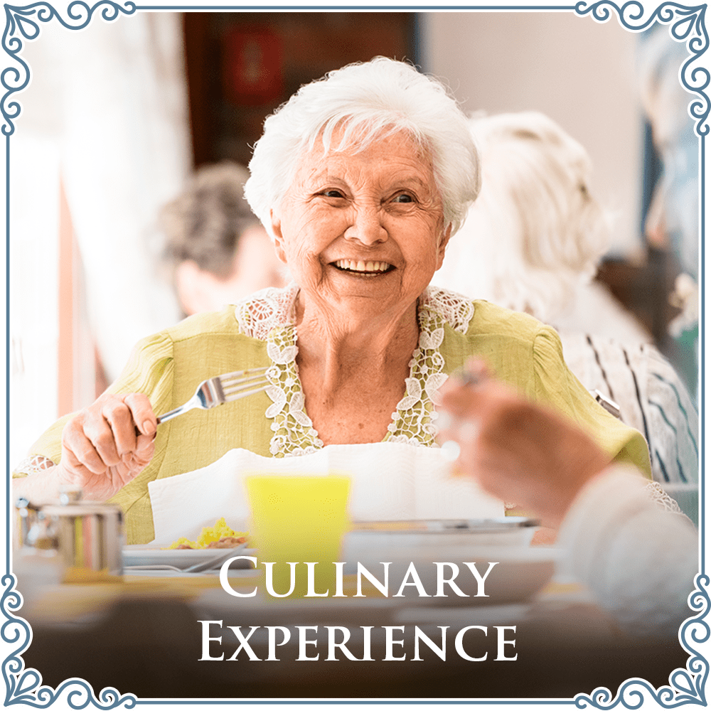 The culinary experience at Beach House Assisted Living & Memory Care at Wiregrass Ranch in Wesley Chapel, Florida
