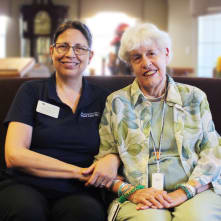 Home care services at Clermont Park