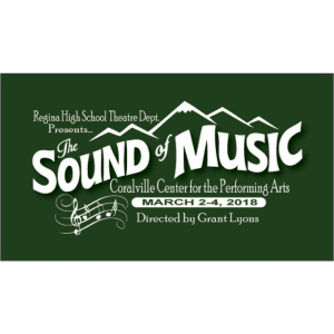 Sound of Music play near Brown Deer Place in Coralville, Iowa.
