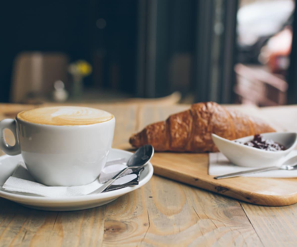 Coffee and pastry in Tulsa, Oklahoma near Creekwood Apartments
