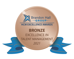 Brandon Hall Group Bronze Excellence in Talent Management 2021