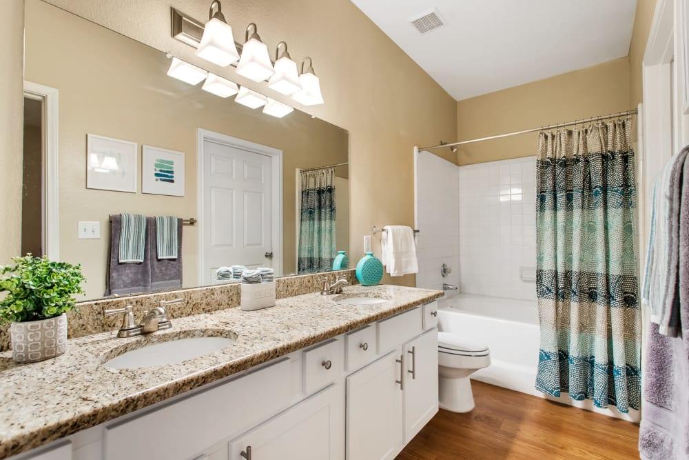 Bathroom at The Lodge at Shavano Park in San Antonio, Texas