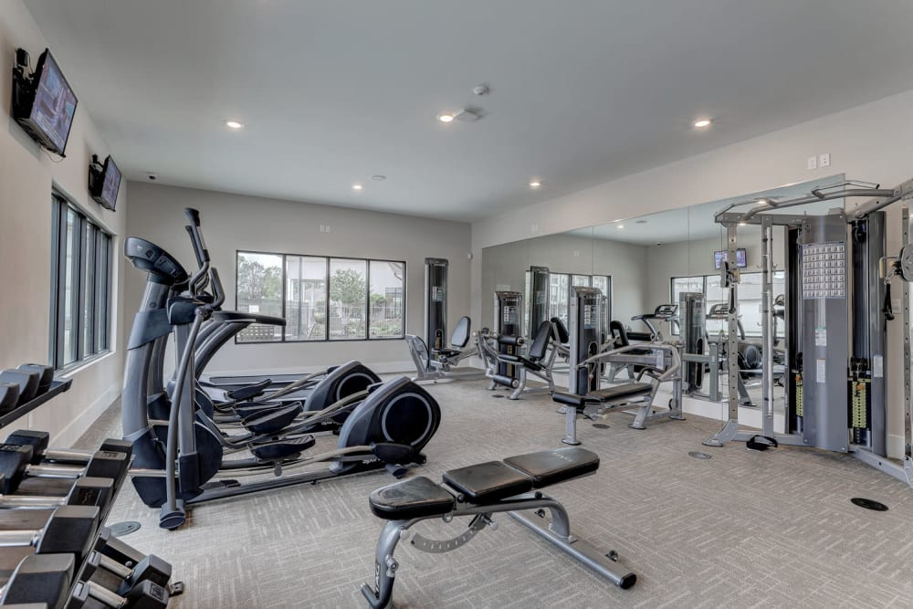 Fitness Center at The Reserve at Couret Farms in Lafayette, Louisiana