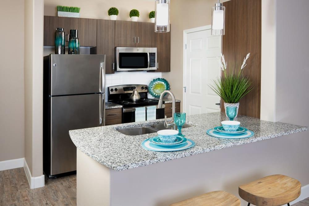 Kitchen Area at Southern Avenue Villas in Mesa