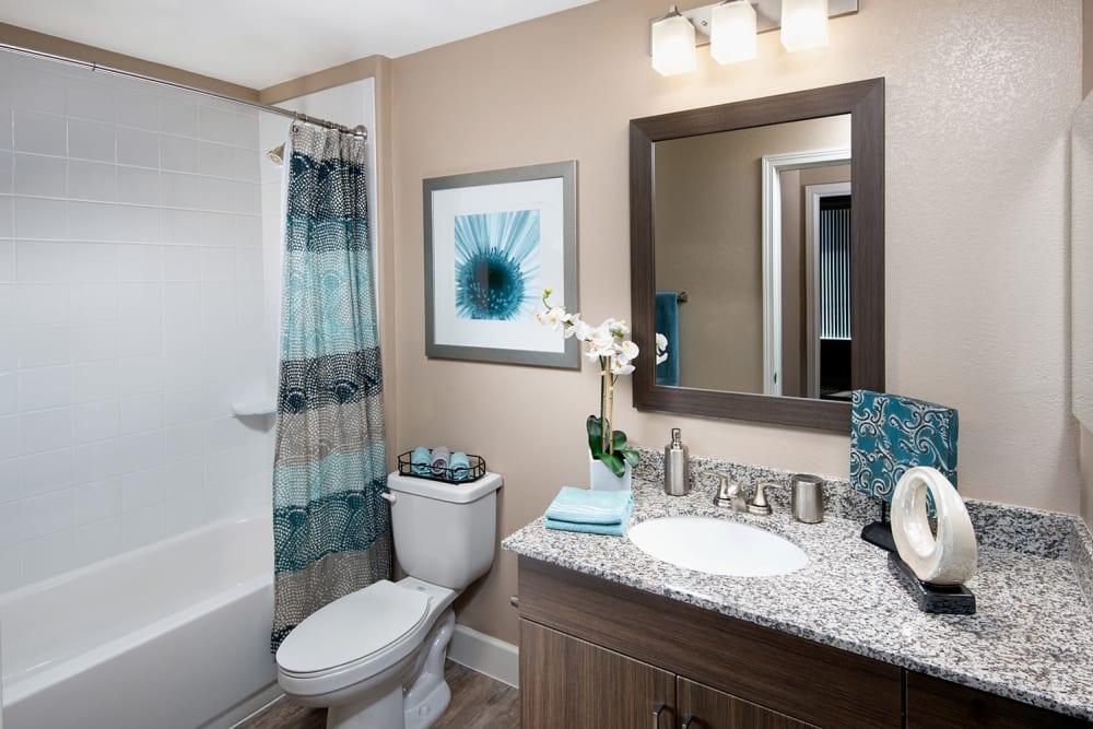 Bathroom at Southern Avenue Villas in Mesa