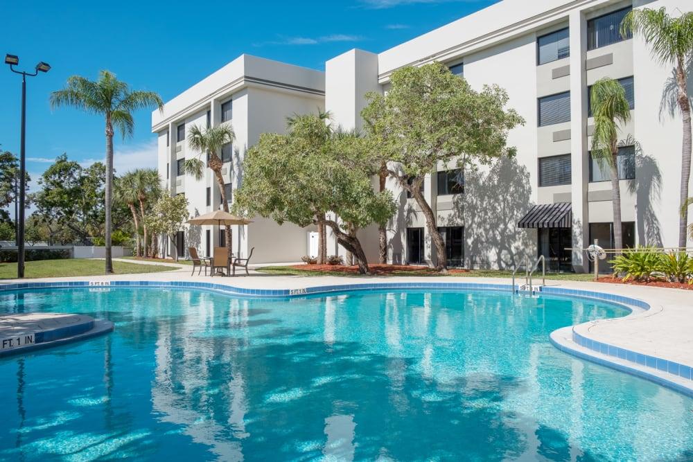Swimming pool at Grand Villa of Boynton Beach in Florida
