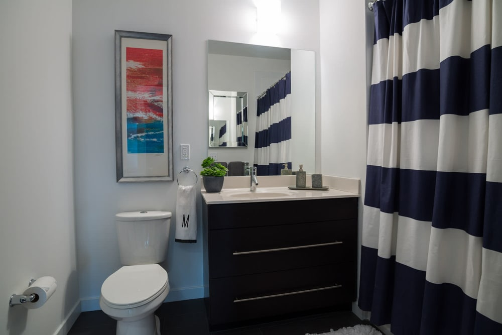 The Verano offers a beautiful bathroom in Stamford, Connecticut