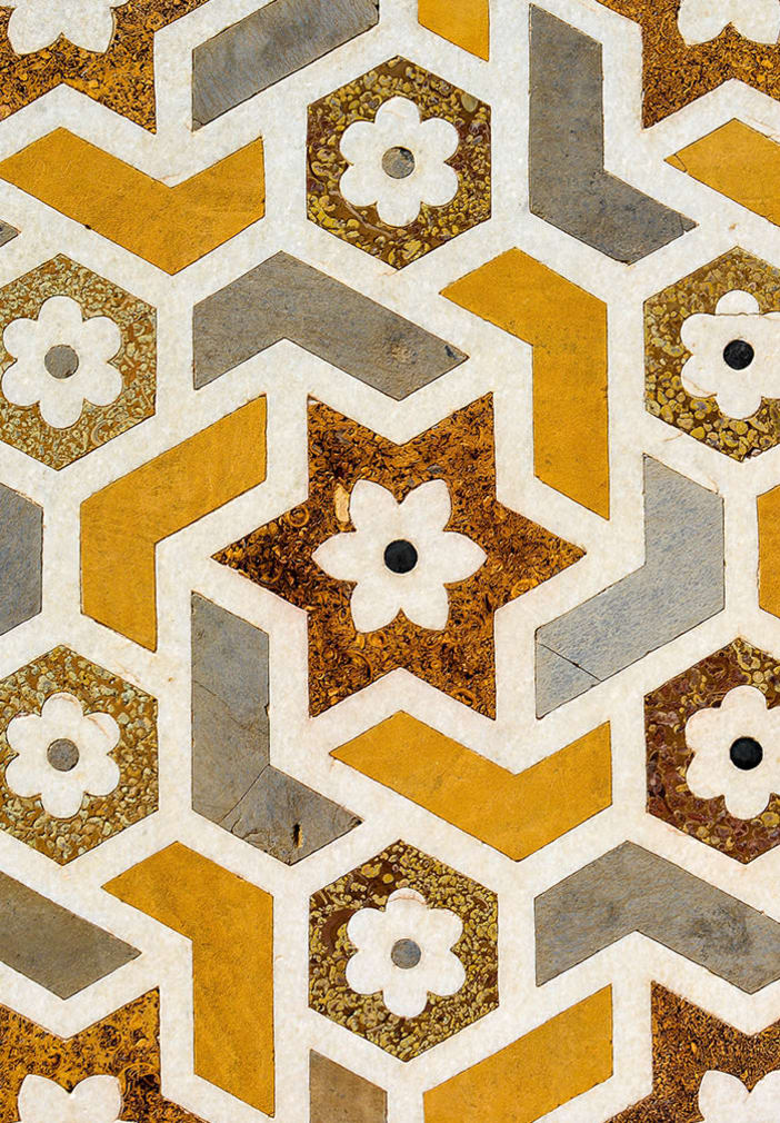 Decorative pattern at The Copeland in Austin, Texas