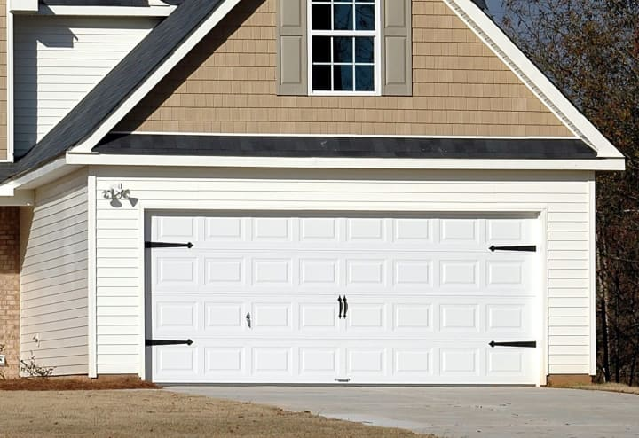 swap out your garage door for an improved look