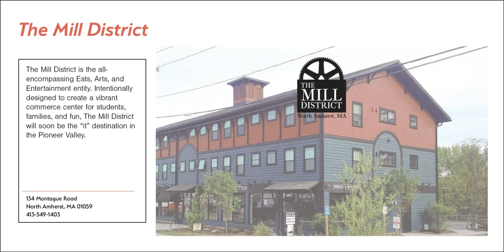 The Mill District at North Square Apartments at The Mill District in Amherst, Massachusetts