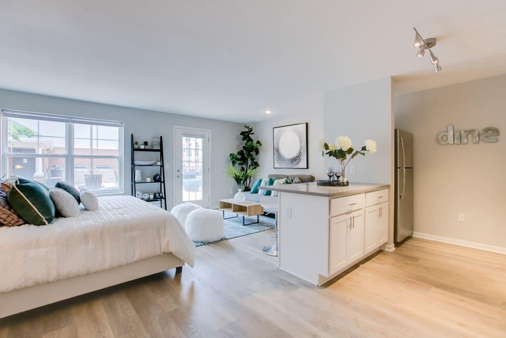 Studio apartment at Loring Park Apartments in Minneapolis, Minnesota