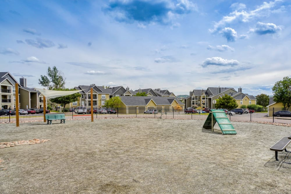 Dog Park at The Pines at Castle Rock Apartments in Castle Rock, Colorado