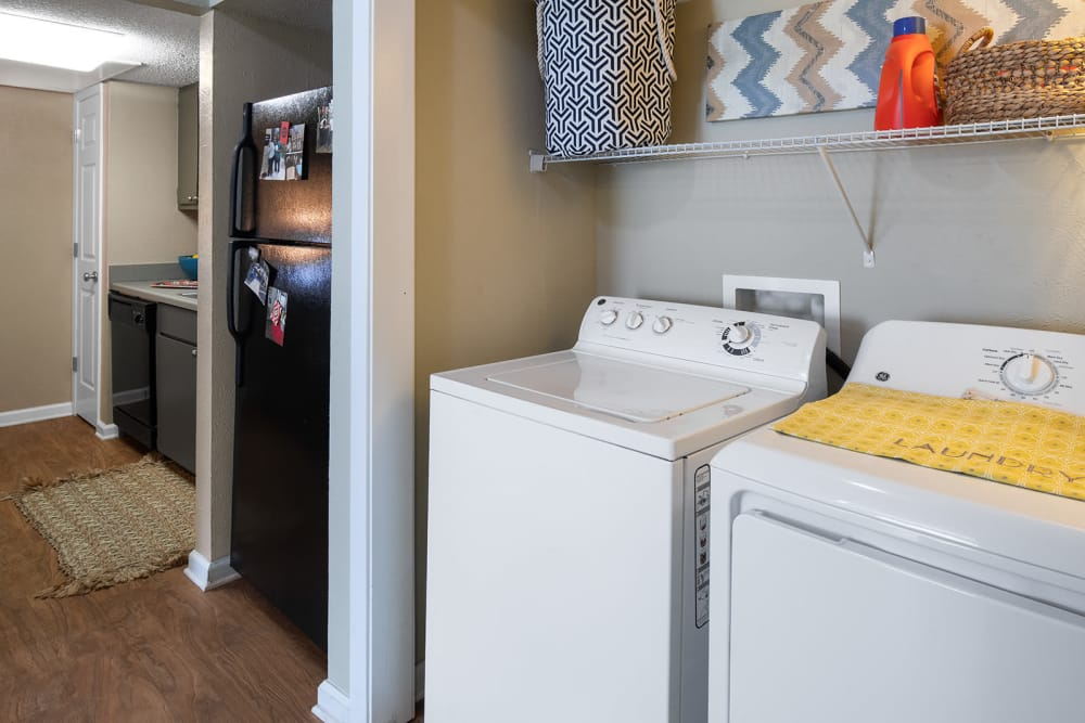 Laundry combo at Apartments in Lubbock