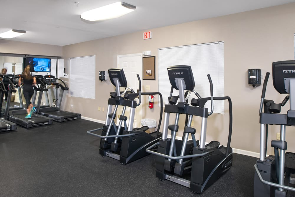 gym room at Legacy Student Living in Tallahassee
