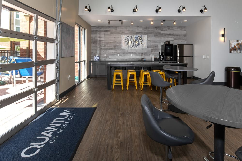 Community club house at with full kitchen at Quantum on West Call