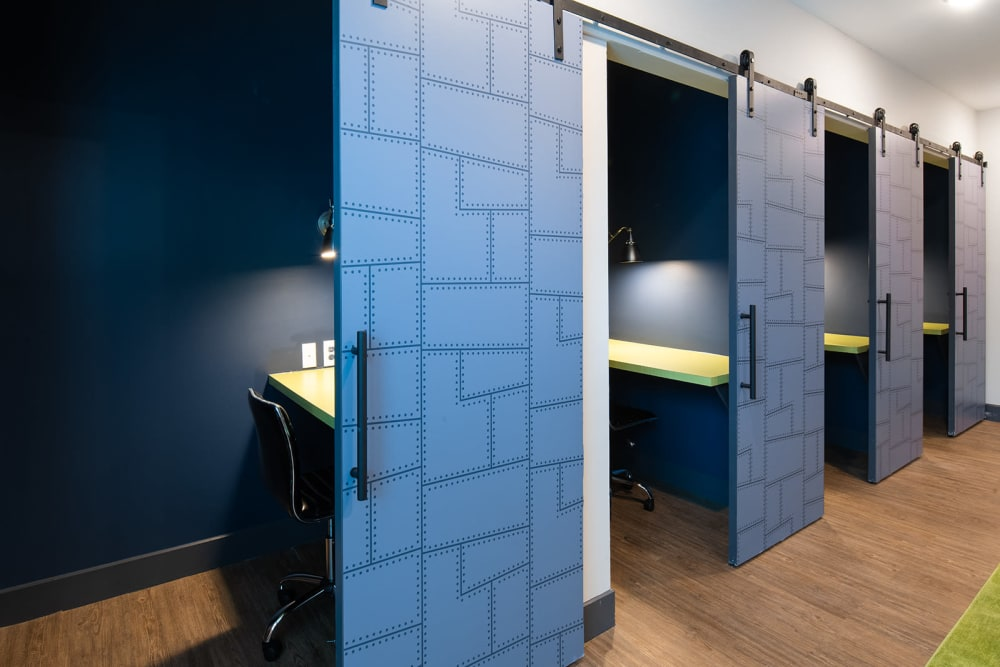 Independent study rooms at Quantum on West Call