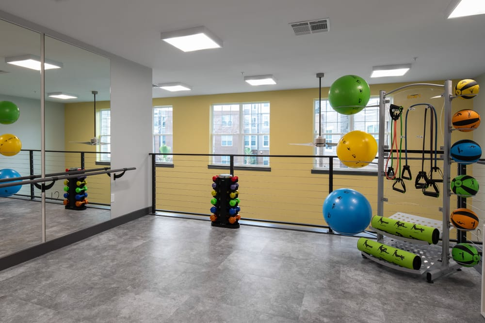 Fitness and yoga center at Quantum on West Call