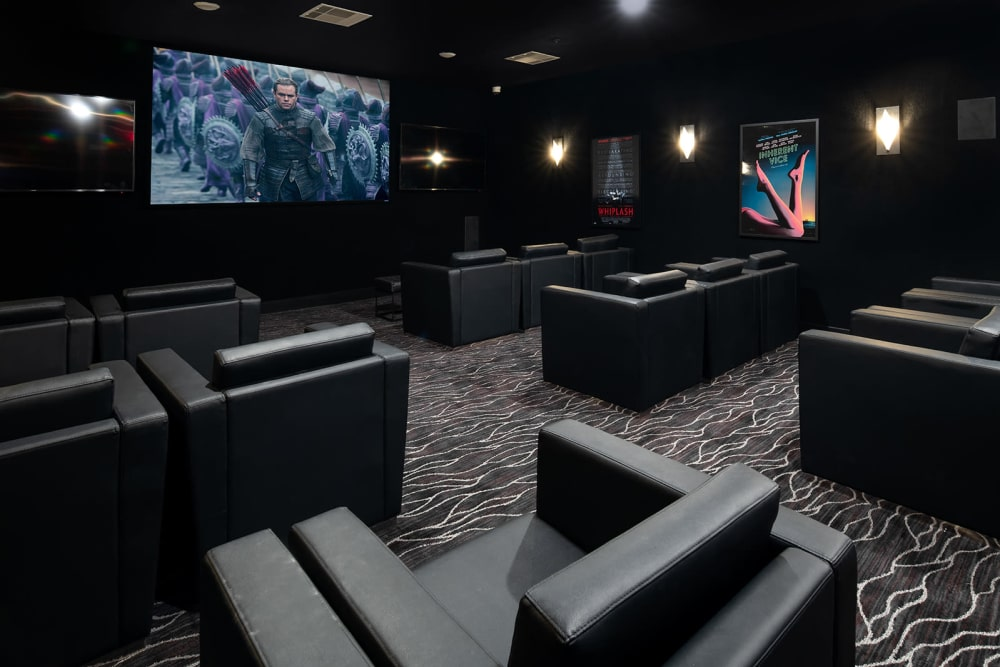 HD theater at Quantum on West Call