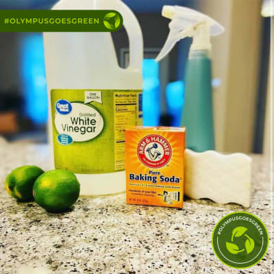 At home DIY cleaning supplies