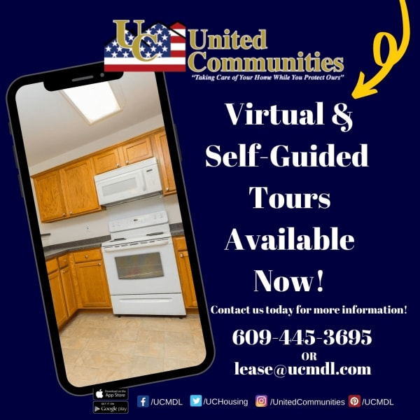 Virtual and Self Guided Tours Available at United Communities