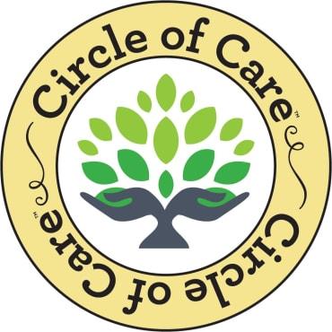 Circle of care logo at Honeysuckle Senior Living in Hayden, Idaho