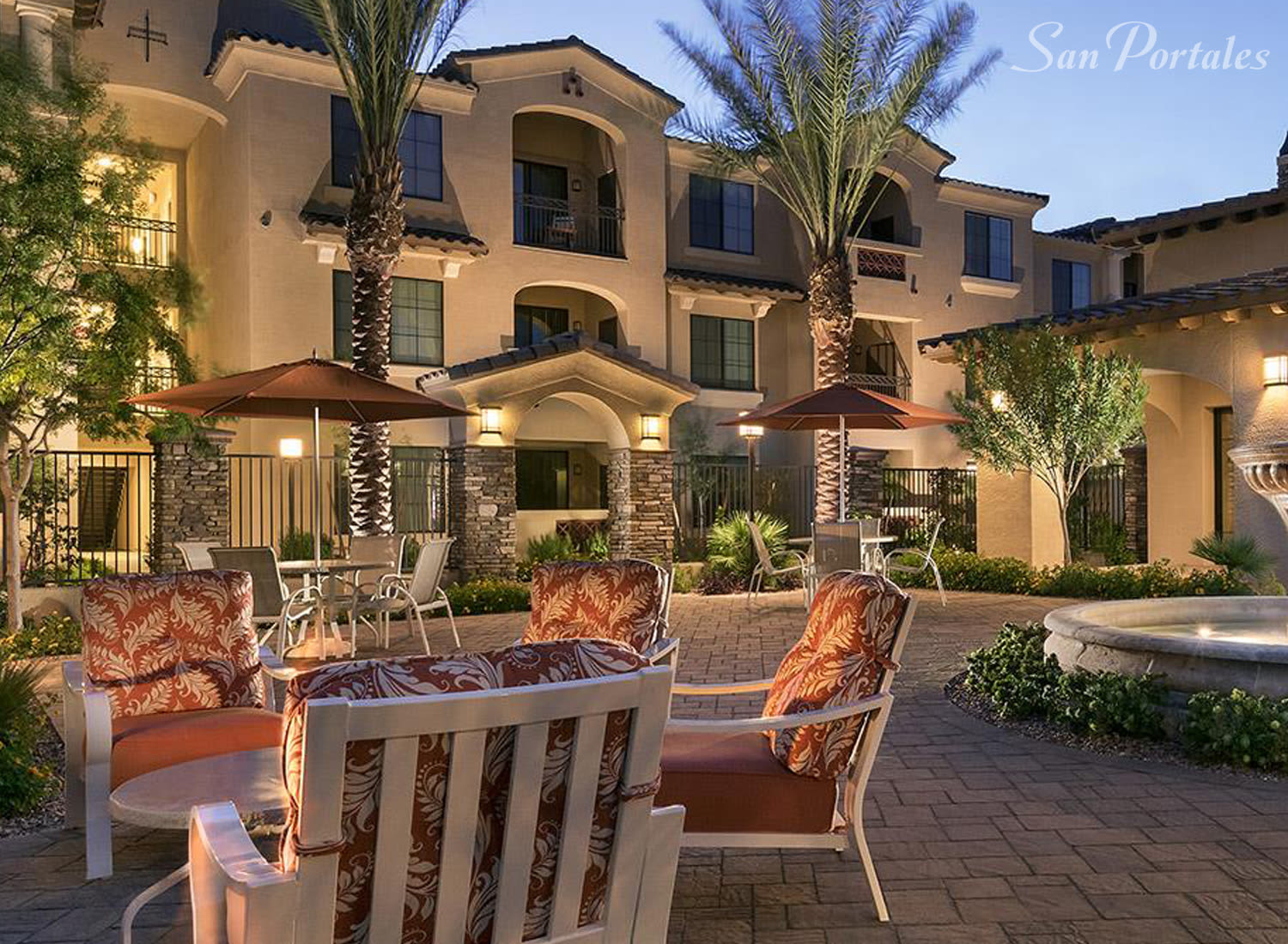 San Portales apartments in Scottsdale, Arizona