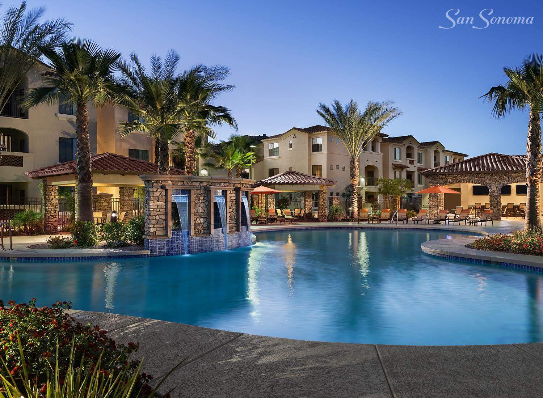 San Sonoma apartments in Tempe, Arizona