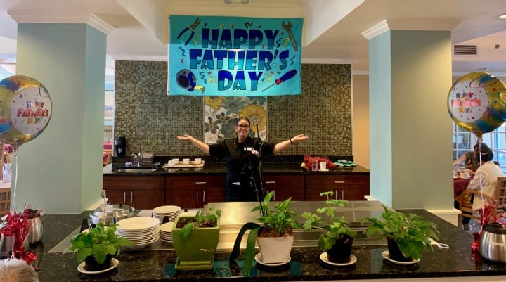 Father's Day Buffet at Merrill Gardens at First Hill (WA)