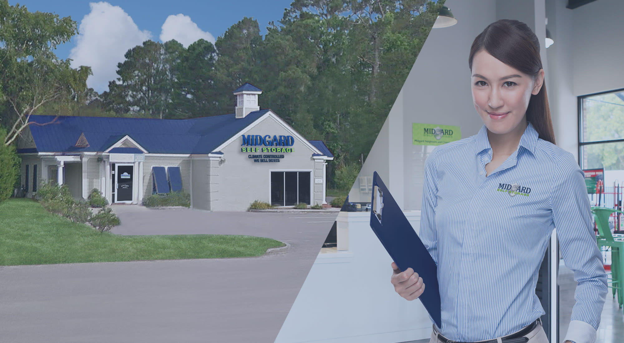 Self storage at Midgard Self Storage in Pawleys Island, South Carolina