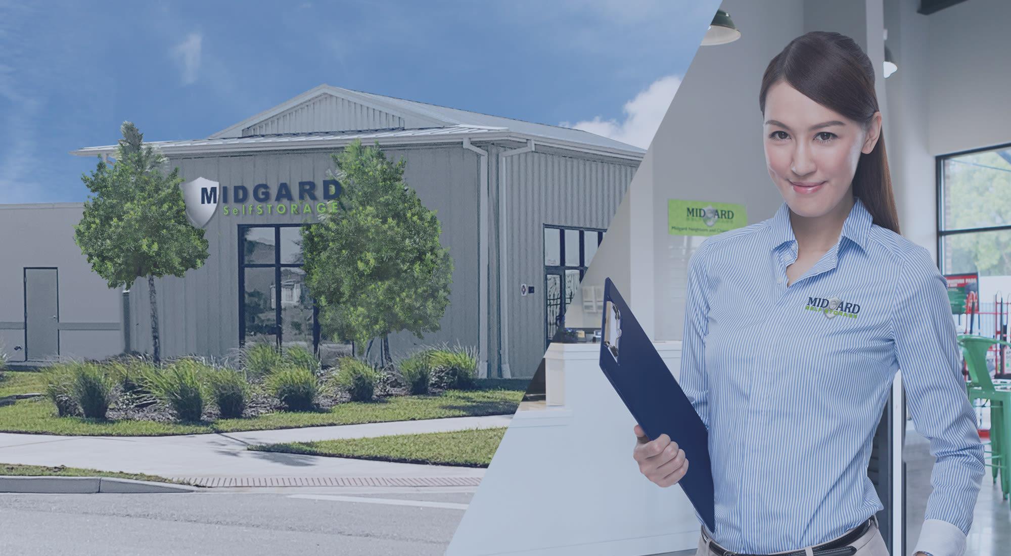 Midgard Self Storage in Bradenton, Florida