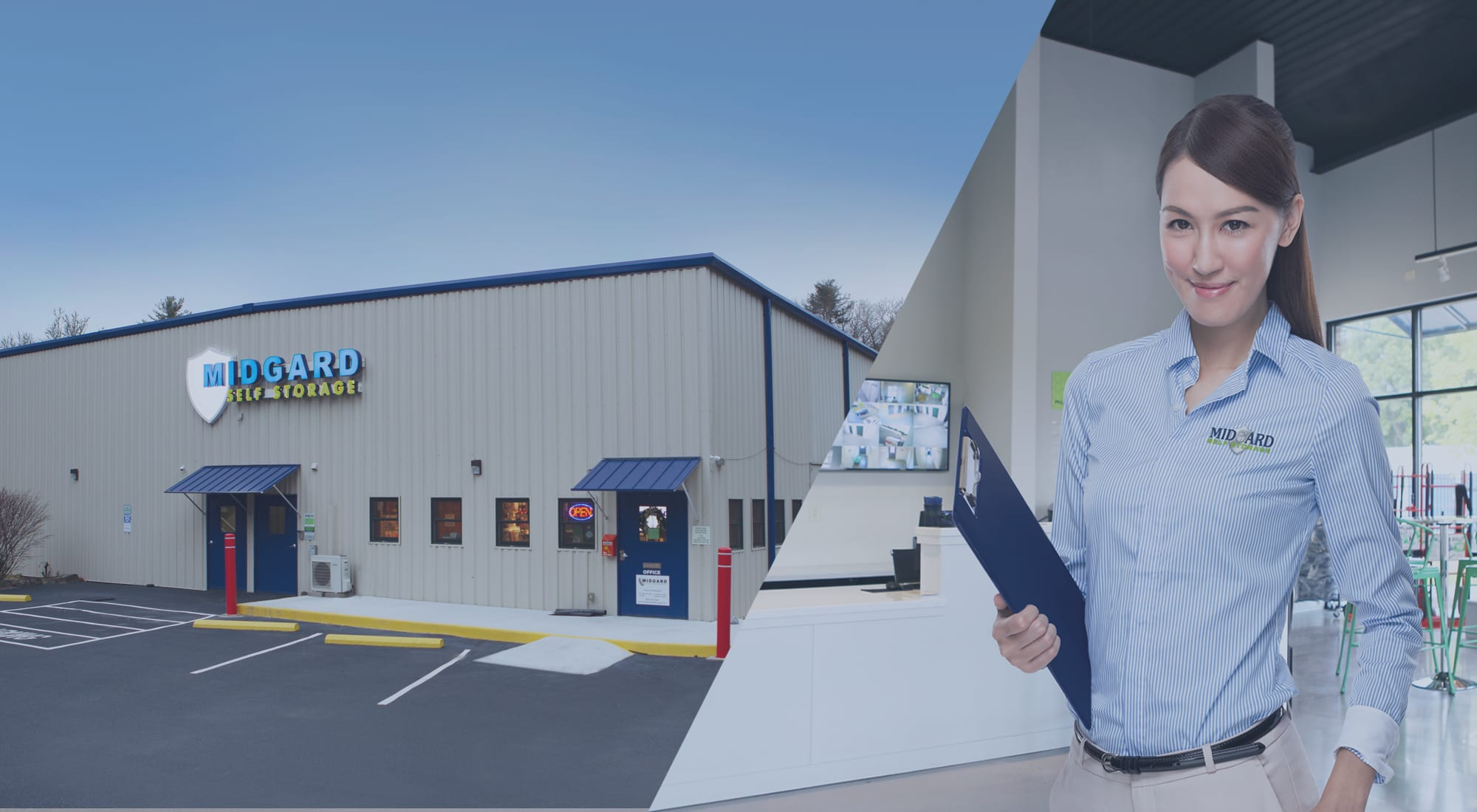 Self storage at Midgard Self Storage in Cashiers, North Carolina