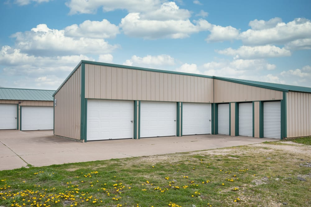 Easy access units at StayLock Storage in Bettendorf, Iowa