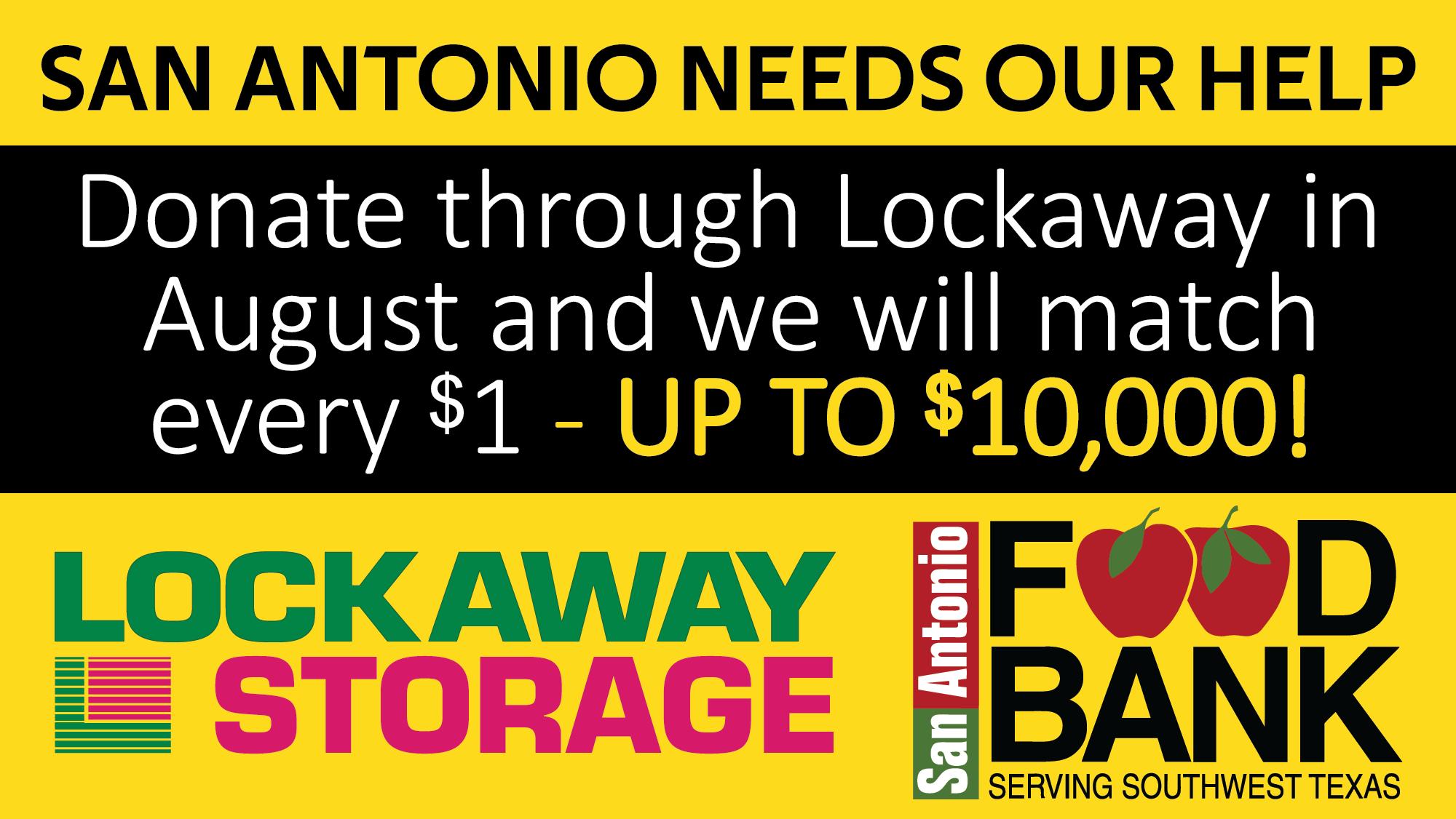 San Antonio Food Bank Needs Your Help