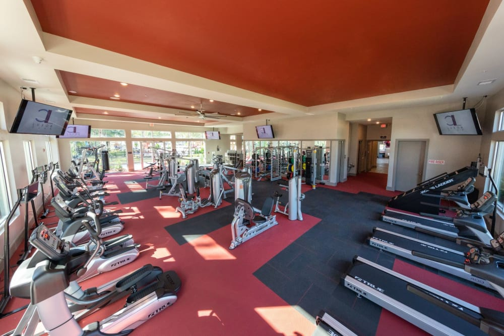 Luxor Club offers a Fitness Center in Jacksonville, Florida