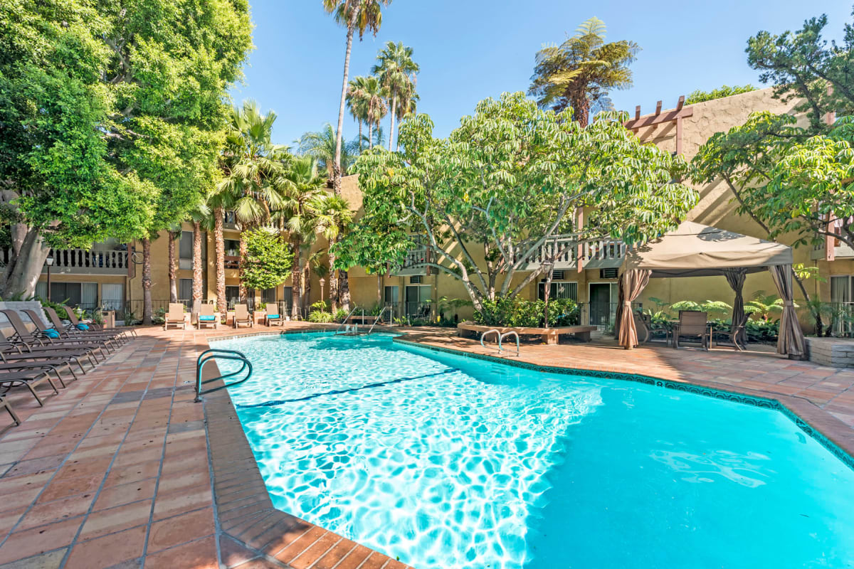 View our Mediterranean Village property in West Hollywood, California